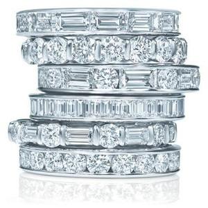 Harry winston diamond bands 2 carats of love harry winston wedding bands junglespirit Image collections
